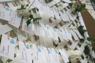Decora tu boda en color turquesa. ¡Se convertirá en tu tono favorito!