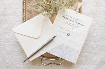 Vielfältige Hochzeitseinladungen 2016: Wählen Sie aus 30 Vorschlägen Ihren Favoriten!