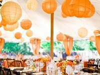 Wedding Color Trend: Tangerine Tango!