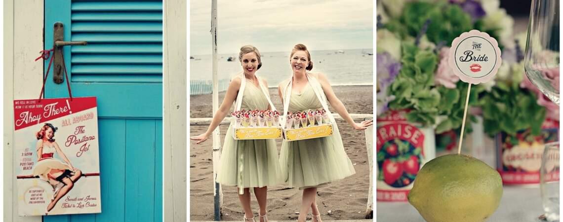 Wedding Decor Highlights: Retro 1950s Pin-Up and Rockabily Theme