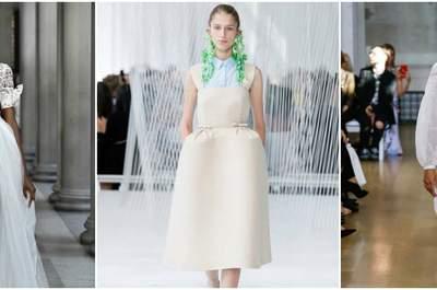 Вдохновение для невест: New York Fashion Week весна-лето 2017. Не пропустите!
