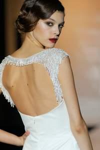 Vestidos de novia con la espalda al aire