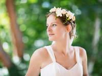 Corone floreali per la sposa 2016: sentiti una ninfa!