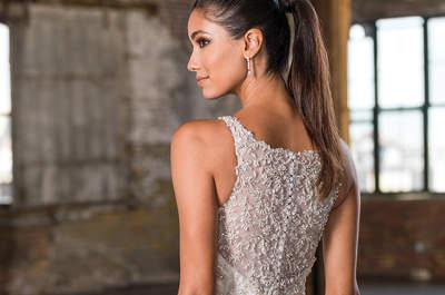 No dejes de ver los vestidos de novia Justin Alexander Signature otoño-invierno 2016-2017