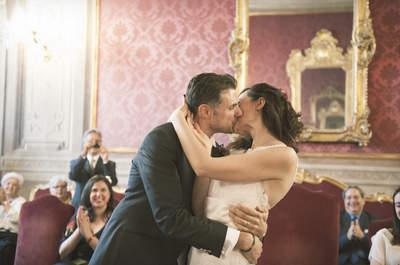 Alice e Lorenzo, un matrimonio all'aperto avvolto dai dolci colli bolognesi