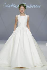 Vestidos de novia corte princesa 2017