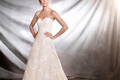 30 robes de mariée avec un décolleté en forme de coeur pour 2017 !