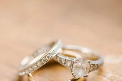 Joyas y tendencias: 28 modelos diferentes en anillos de boda