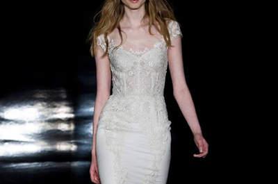 Vestidos de novia con hombros caídos 2017: ¡Para novias muy elegantes!