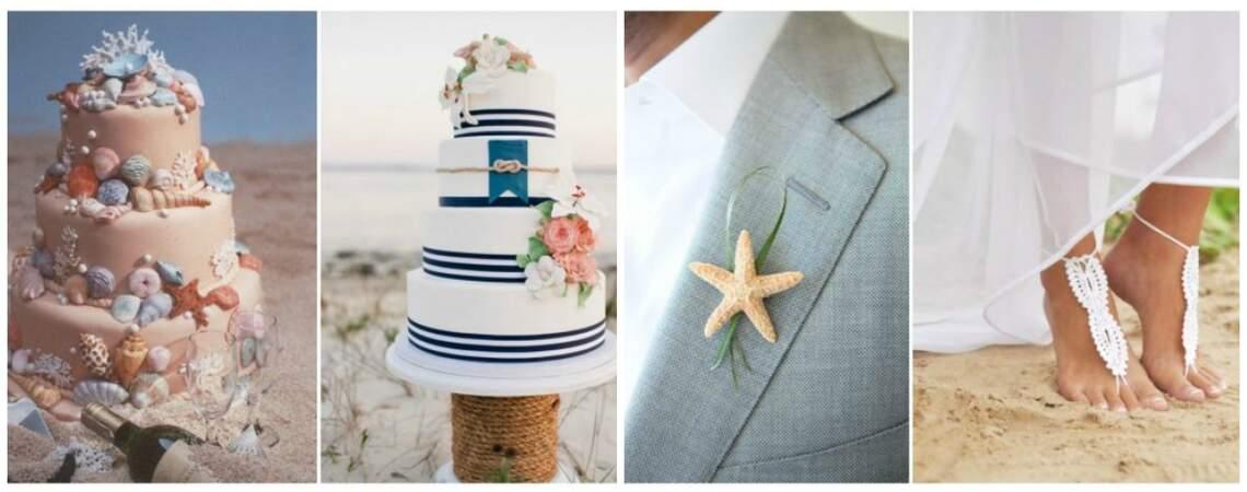 Decor Highlights: A Beach Wedding
