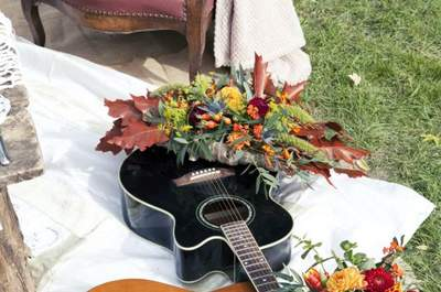 Les bouquets de mariée avec des fleurs sauvages 2017 les plus canons