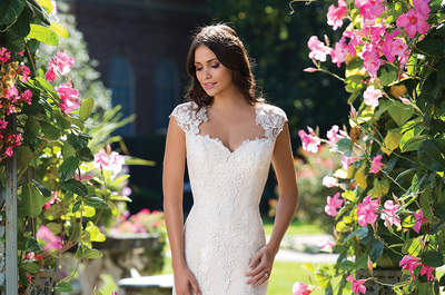 Deixe-se seduzir pelos vestidos de noiva Sincerity Bridal: jovem e igualmente elegante