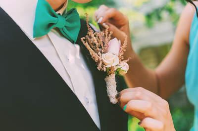 Flores para o terno do noivo: o toque perfeito para personalizar o look!