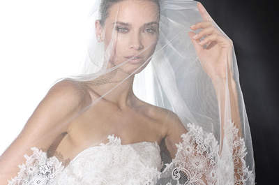Hechizantes velos de novia 2016, sólo para ti