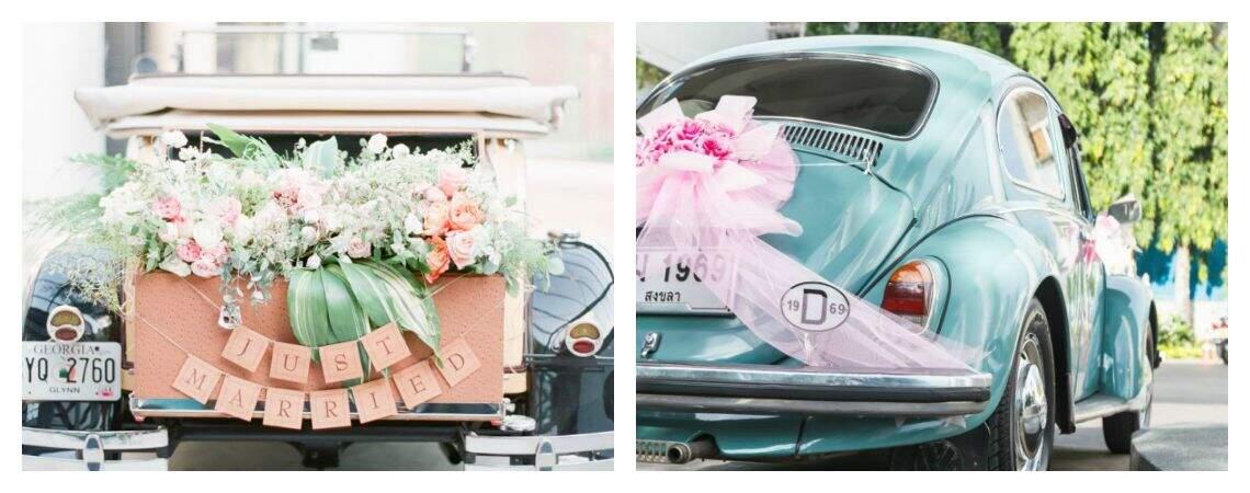 Peppen Sie Ihr Hochzeitsauto auf – Vintage, Hippie, bunt und unvergesslich!