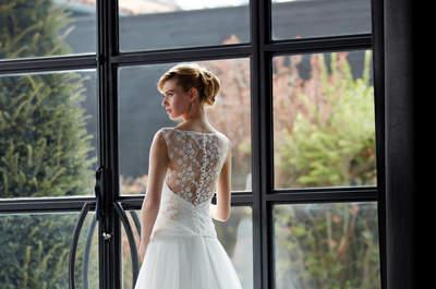 Collection 2017 Créations Bochet : des robes parfaites pour les mariées romantiques et sensibles