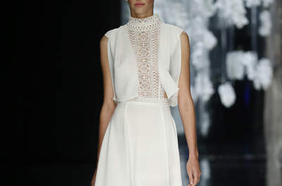 Robes de mariée minimalistes 2016 : simples et tellement chic à la fois !