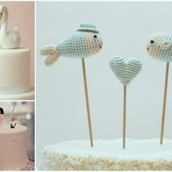 Adorable and Original Wedding Cake Toppers