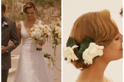 Tu película favorita, un vestido de novia... ¡El mejor look de tu vida!
