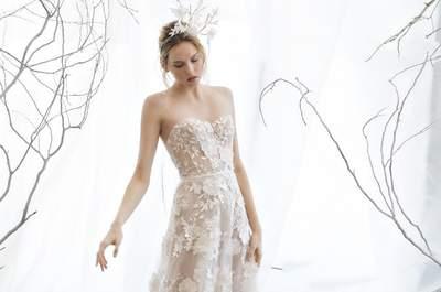 Vestidos de novia Mira Zwillinger 2017: Inspiración etérea que enamora