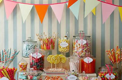 Ideas para el Candy Bar de boda