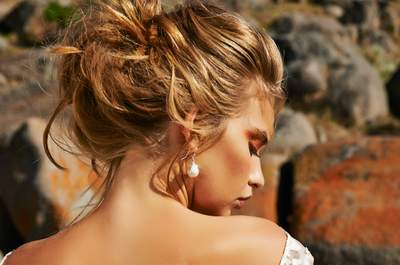 Sweet, Loose Bridal Hairstyles 2015