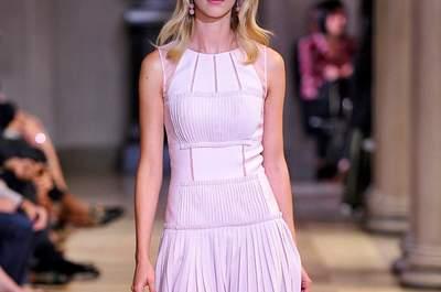 Carolina Herrera primavera 2016: Think Pink... Una oda a la perfección del color rosa