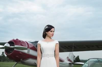Die schönsten Brautkleider aus der Kollektion 2014 von Justin Alexander