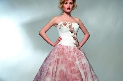 Abiti da sposa colorati 2015: perché il bianco non è l'unica opzione!