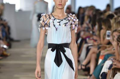 New York Fashion Week, Frühling/Sommer 2017: Luxuriöse Kleider für die Hochzeitsparty