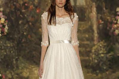 Geniale Brautkleider in A-Linie 2016, die Ihre schmale Taille perfekt zur Geltung bringen!