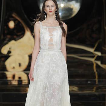 Prachtige trouwjurken met rechte halslijn voor de bruid in 2017
