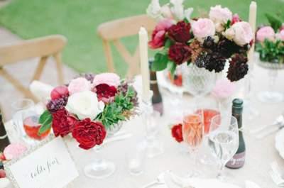 Decoración de mesas para bodas 2015: las ideas más chic