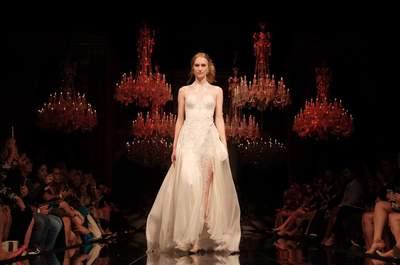 Vestidos de noiva Samuel Cirnansck delicadeza e poder no Casamoda Noivas 2015
