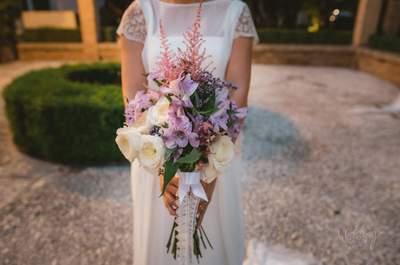 25 ramos de novia: las flores más de moda para 2016