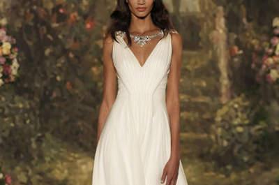 Свадебные платья Jenny Packham 2016: мечтательные невесты