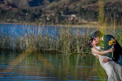 40 besos en imágenes, la inspiración para tu álbum de bodas