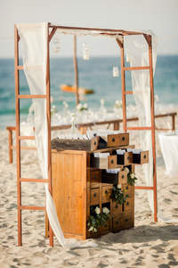 Decoración de boda en la playa 2017