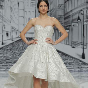 Vestidos de novia Justin Alexander 2017: siluetas clásicas con acabados modernos y estilosos