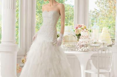 Свадебное платье с декольте Сердечко 2015: ставка на романтизм