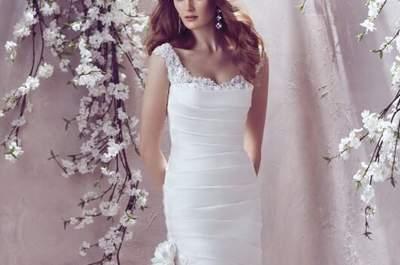 Vestidos de novia con hombros caídos 2017: ¡atrévete a seducir!