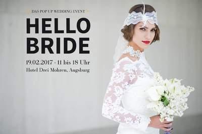 Kreativ in die Hochzeitsplanung 2017/2018 starten – Mit der Augsburger Hochzeitsmesse Hello Bride