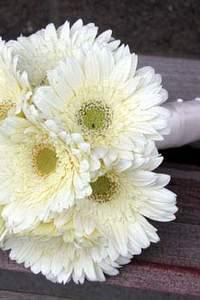 Bouquet de mariée moderne