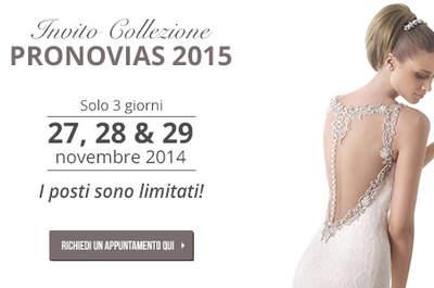 Nel segno di Grace. Pre-collezione 2015 di Pronovias: eleganza e glamour intramontabili, per festeggiare i suoi primi 50 anni