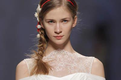Vestidos para noivas baixinhas: acrescente comprimento à sua silhueta