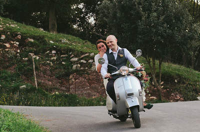 What mode of transport would you choose for your wedding?