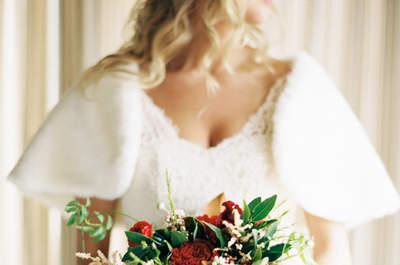 Os bouquets de noiva perfeitos para o casamento de Outono