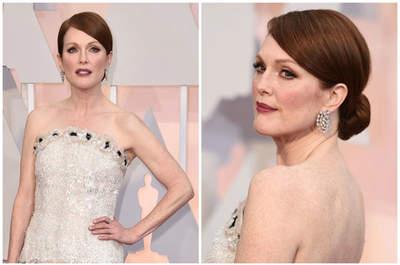 Los mejores peinados de los Oscar 2015: ideas para tu look de novia o invitada