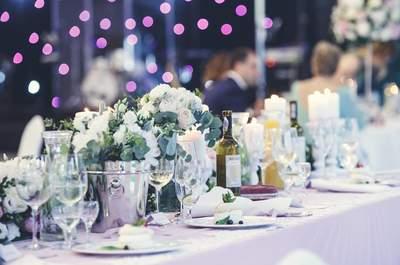 Dekoracje stołów 2017! 25 ozdrób na stoły weselne.
