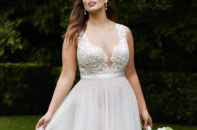 Gorgeous gowns for a fuller figured Bride to be in 2016!